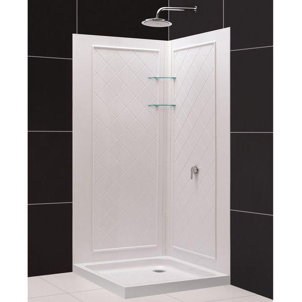 DreamLine QWALL-4 Shower Enclosure Backwalls Kit | New Bathroom Add ...