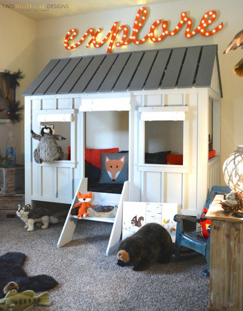 Kids playroom ideas diy - Diy Explore Marquee Sign
