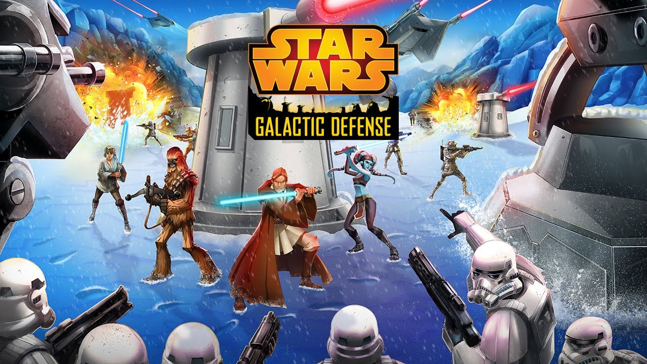 Official star wars galactic defense launch trailer get