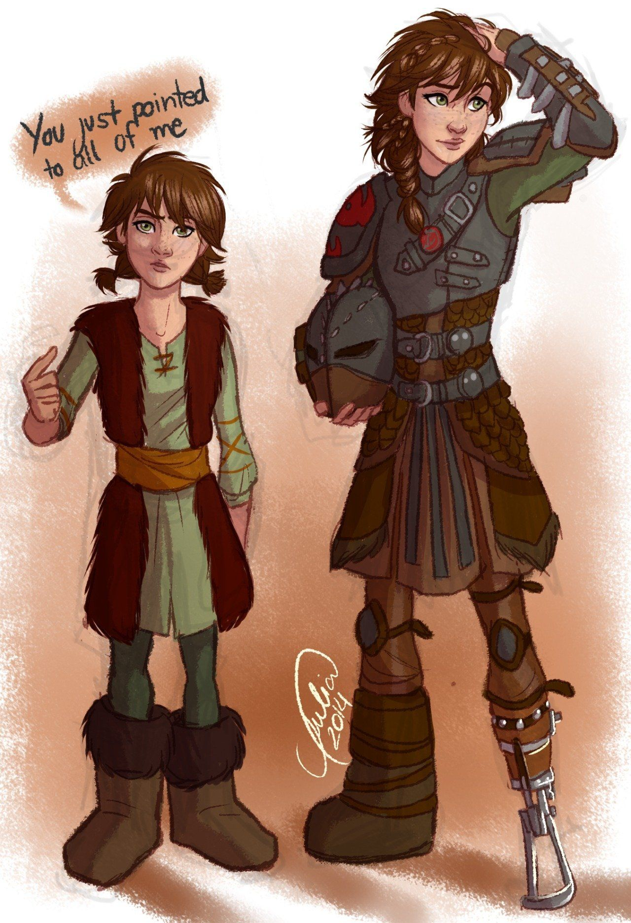 40 different gender bent characters omg Fem Hiccup and male