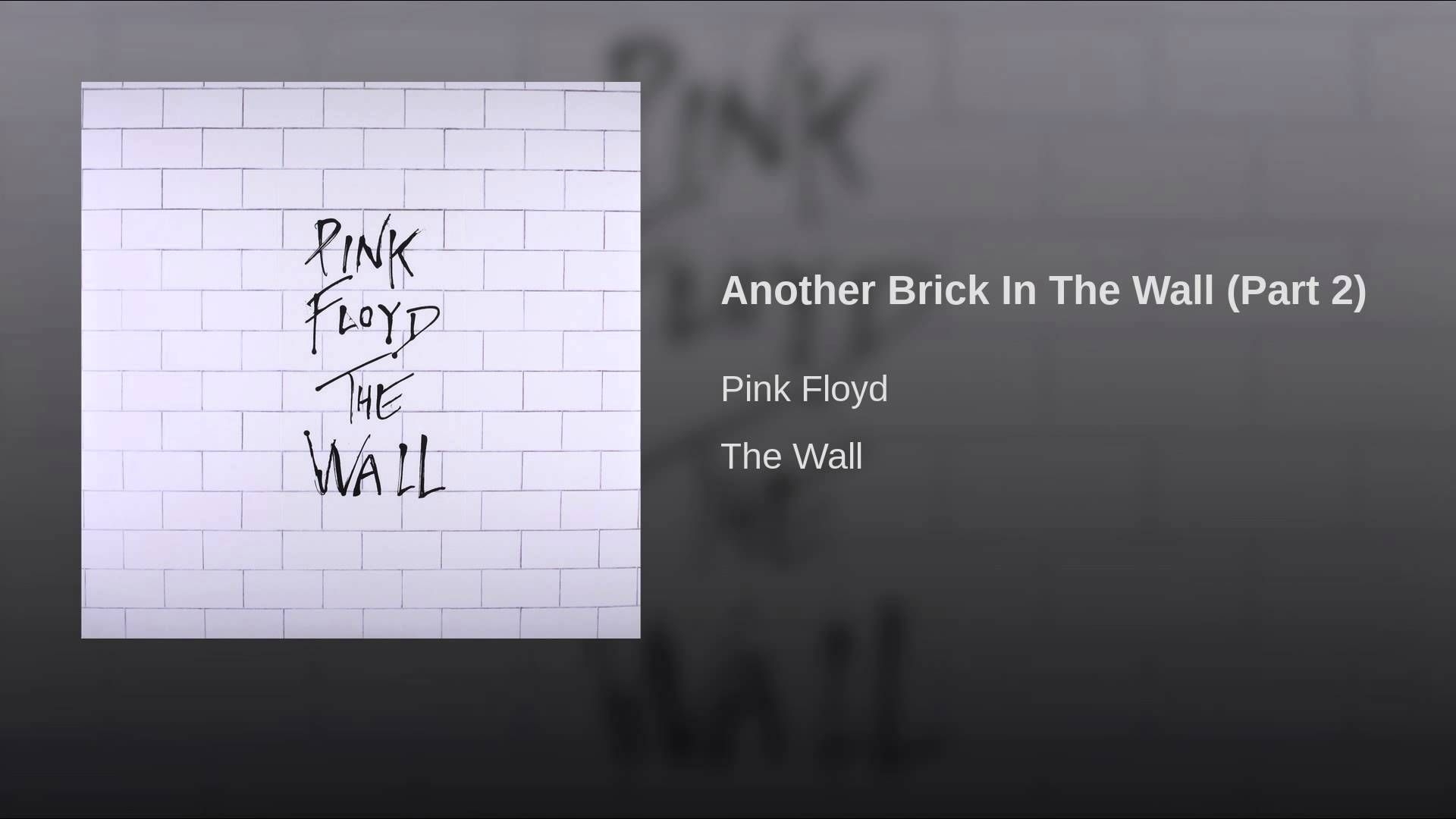 The Wall Pink Floyd Full Hd Hq Pink Floyd Music Pink