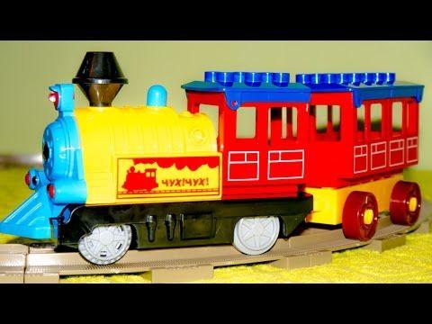 Merry Trip Railway With Bridge Train Video For Children