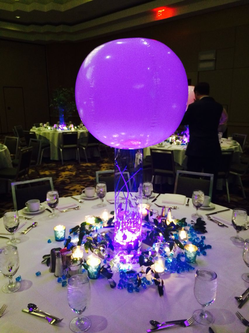 Beach party table decorations led beach balls make affordable party decor  gala   pinterest