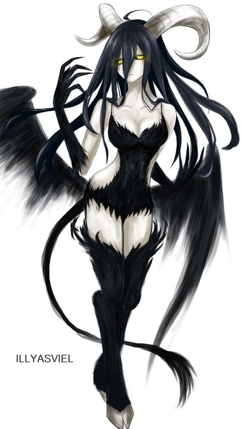 Pin By Saibajoichiro On Overlord Pinterest Anime Devil And Monster Girl