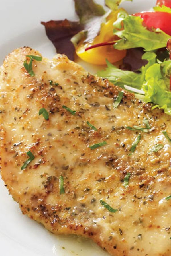 With Citrus And No Salt Garlic Herb Seasoning This Lightly Breaded Chicken Recipe Is An Instant