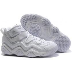 Adidas Top Ten 2000 Retro(Kobe Bryant Shoes) in all white