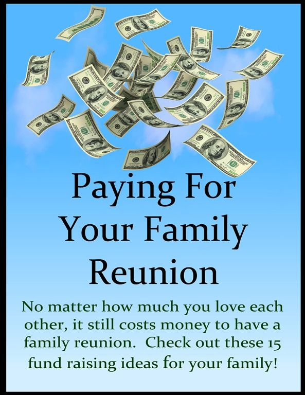 title paying for your family reunion2 Family Reunion Pinterest - class reunion invitations templates