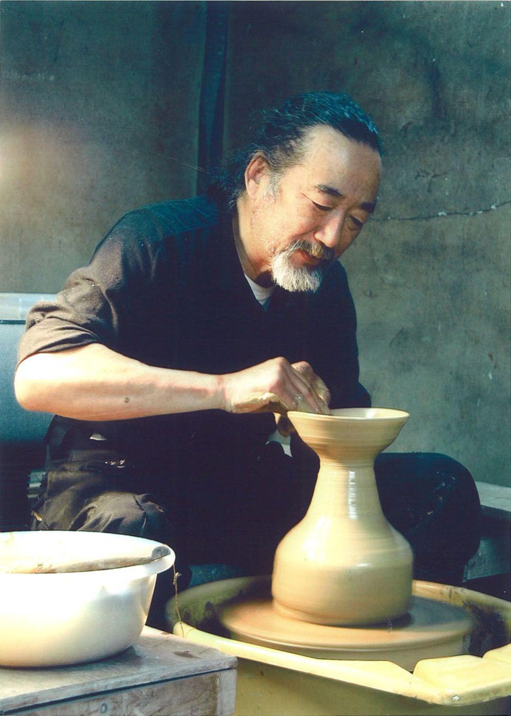 Sensual potters craftsmanship