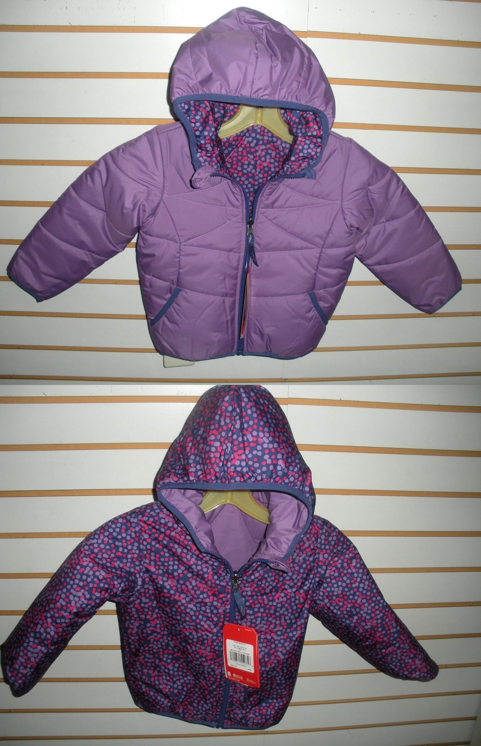 ba45589d6 Outerwear 147202: The North Face Toddler Girls Reversible Perrito ...