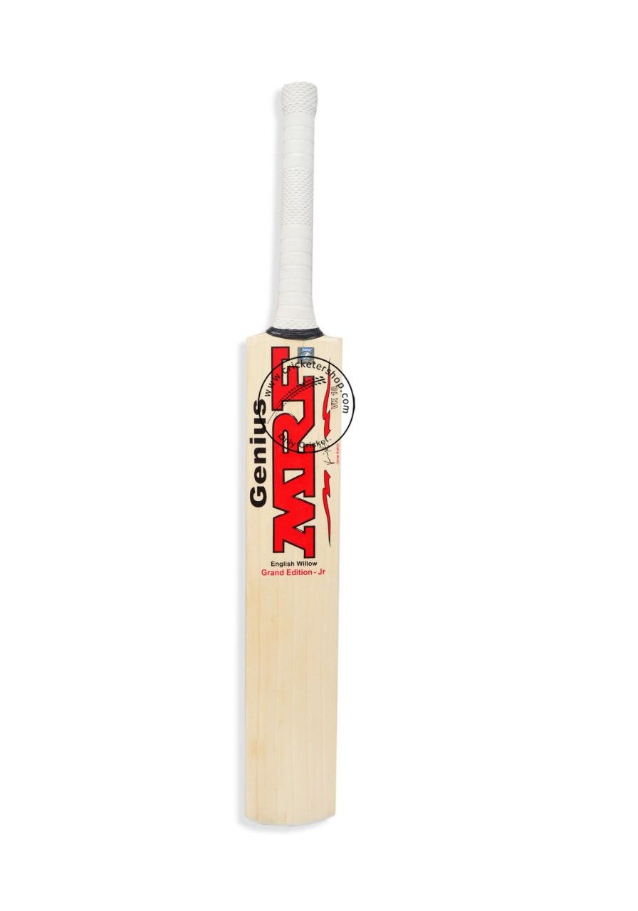 Mrf Genius Grand Edition Junior English Willow Cricket Bat Latest Design Online At