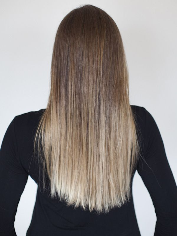 How To Get Ombr Hair At Home With Loral Pinterest Ombre Hair
