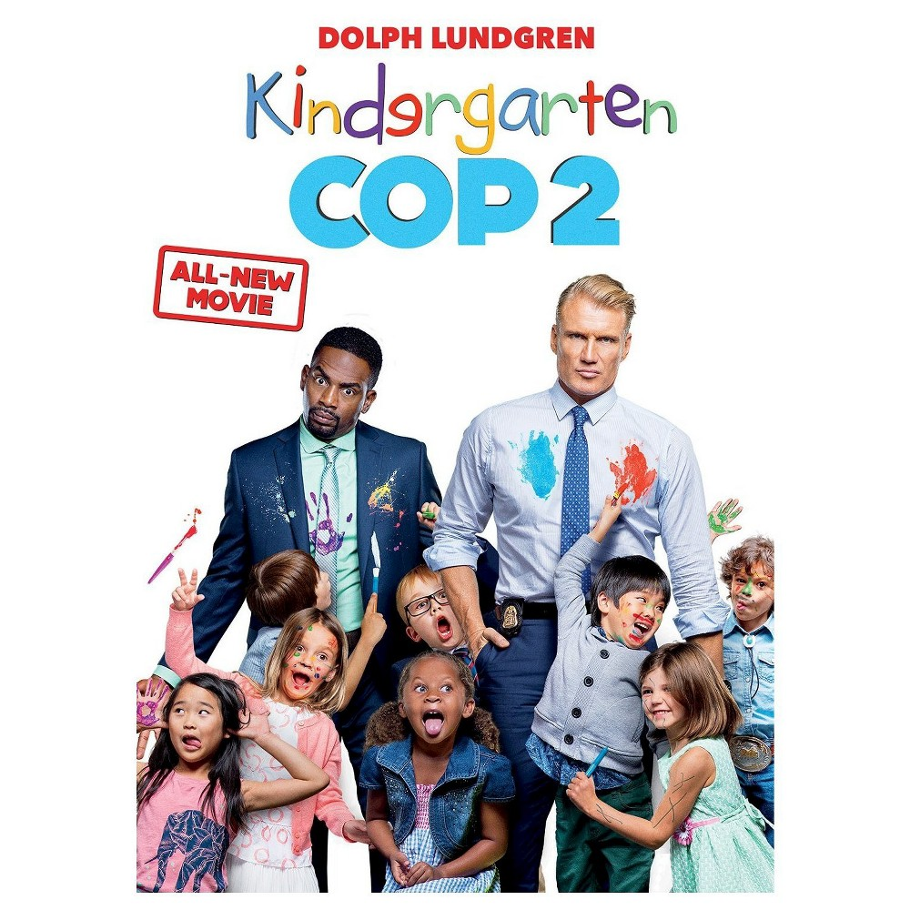 Kindergarten Cop 2 Dvd Dolph Lundgren New Movies