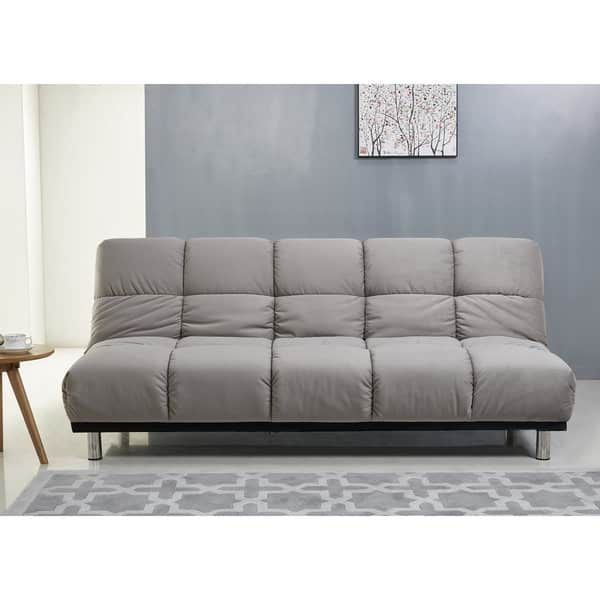 Abbyson Charlotte Grey Fabric Sofa Bed Ping The Best Deals On