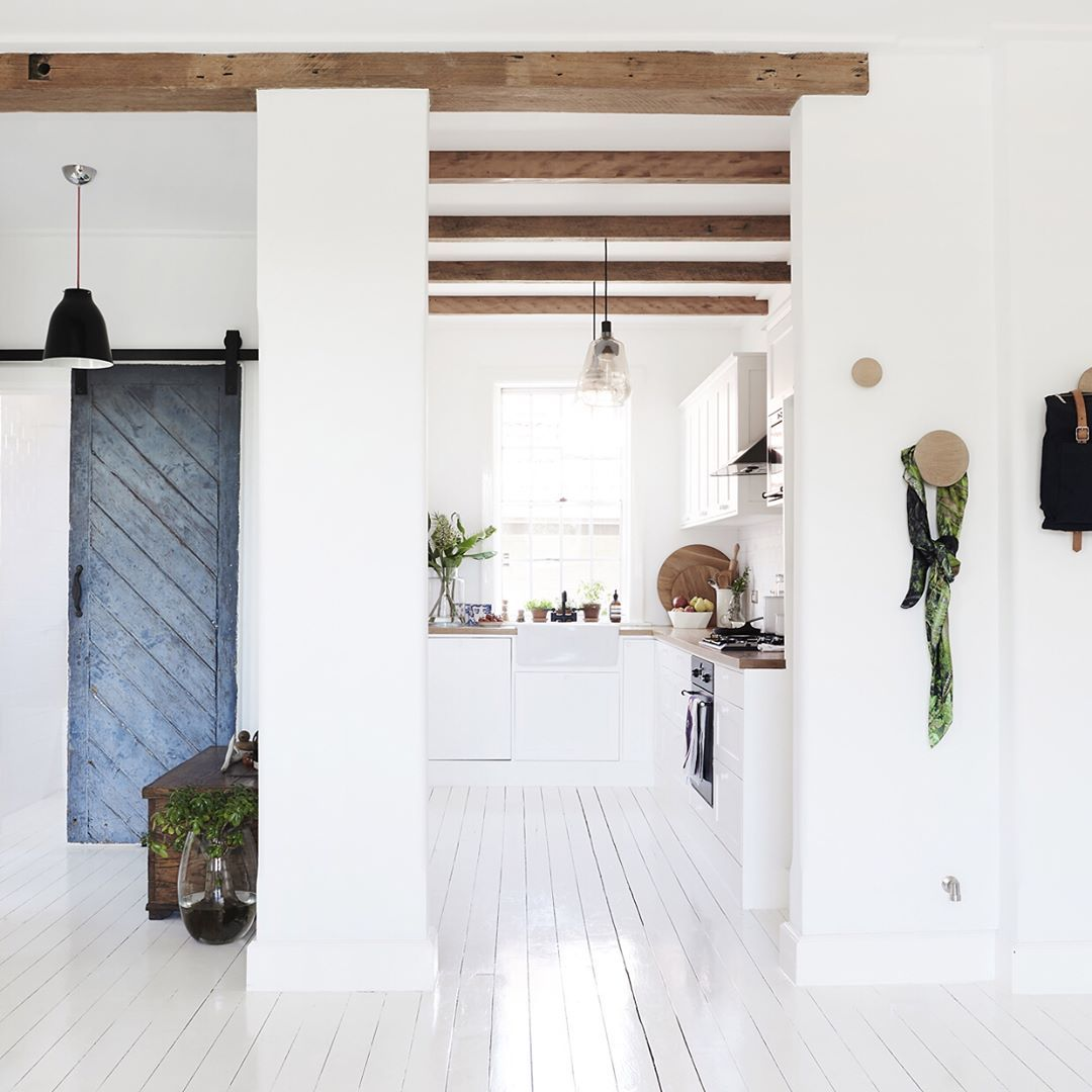 This Two-bedroom Apartment Of Designer Frag Woodall And