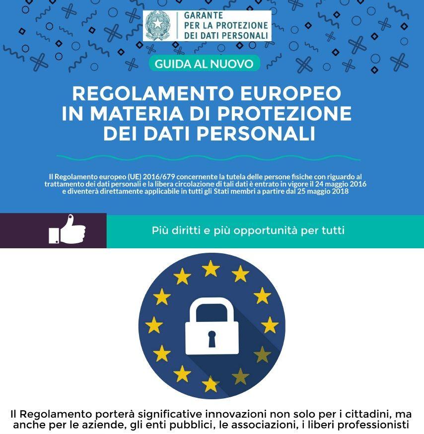 Il Nuovo Pacchetto Protezione Dati Pagina Informativa
