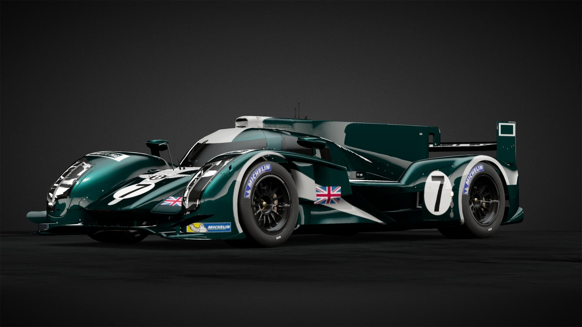Bentley Speed 8 Race Car Car Livery by rogholmesPNE1880