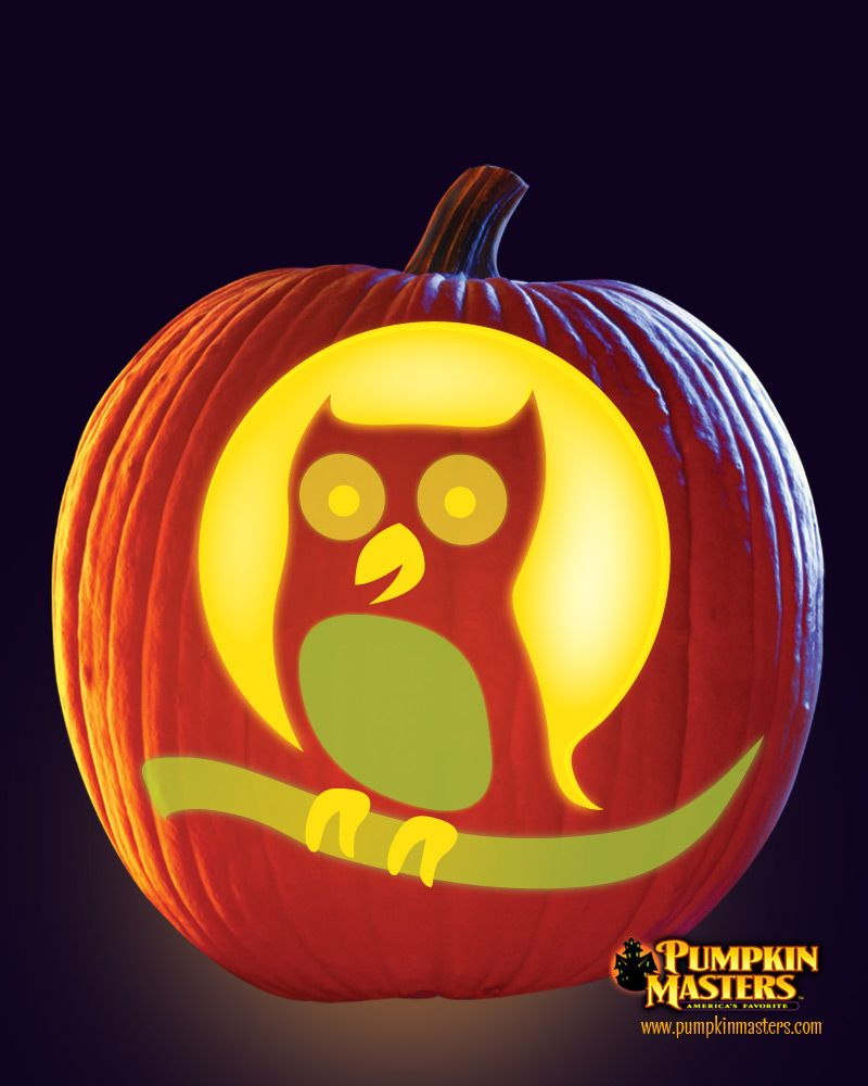 Quot owlet pattern from the pumpkin masters kid s glow in