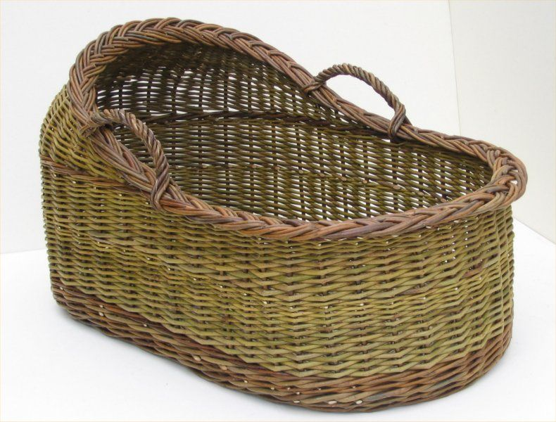 How To Weave A Moses Basket : Joe hogan basket maker traditional irish willow baskets