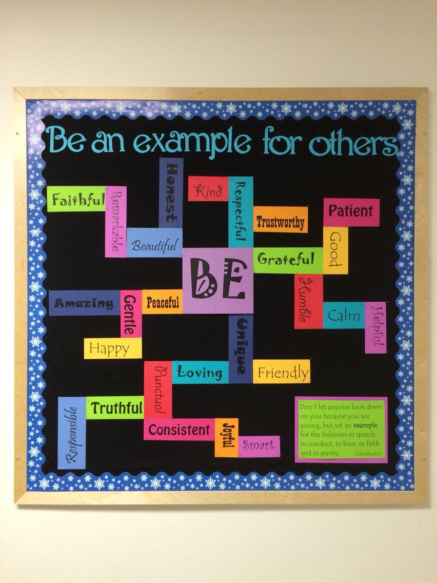 be an example bulletin board bulletin boards pinterest rh pinterest ca