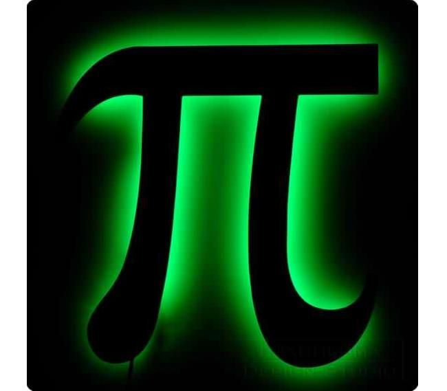 Gallery for pi symbol 3d greek pi pinterest for Pi character