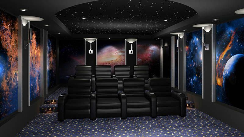 theaters Bose theaters Sound Home Theater Outer Space  Trendry Movie Room Decor  You are in the right place about home theaters ripado Here we offer you the most beautifu...