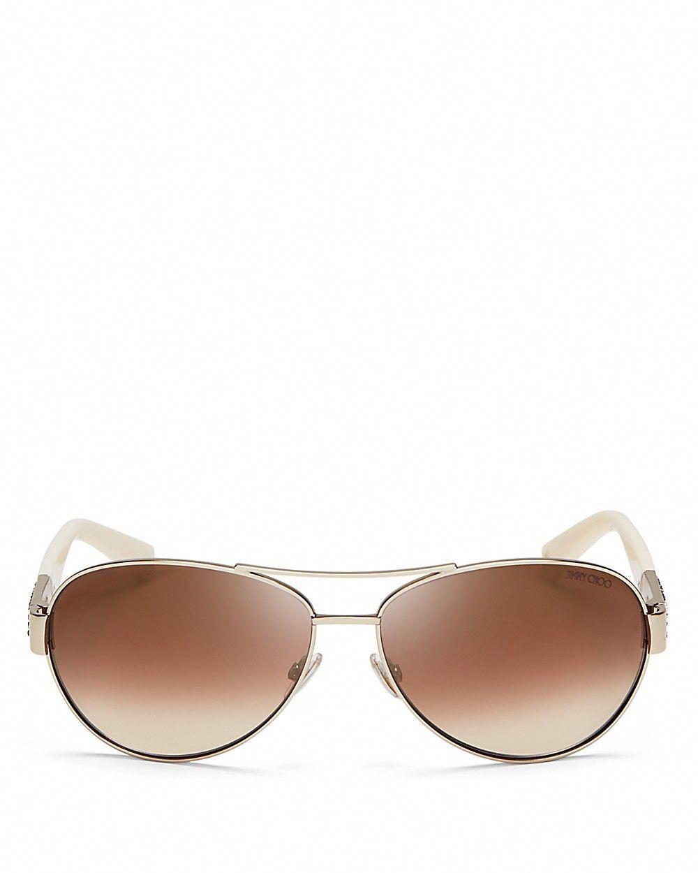 f5d71eaad6dd3 JIMMY CHOO Jimmy Choo Mirrored Baba Aviator Sunglasses