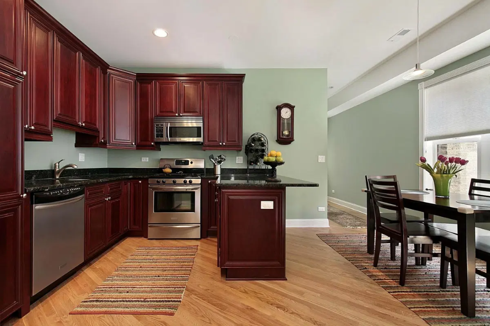 Good Paint Colors Kitchens Best Color Kitchen Light Maple Cabinets Modern Colours For Walls