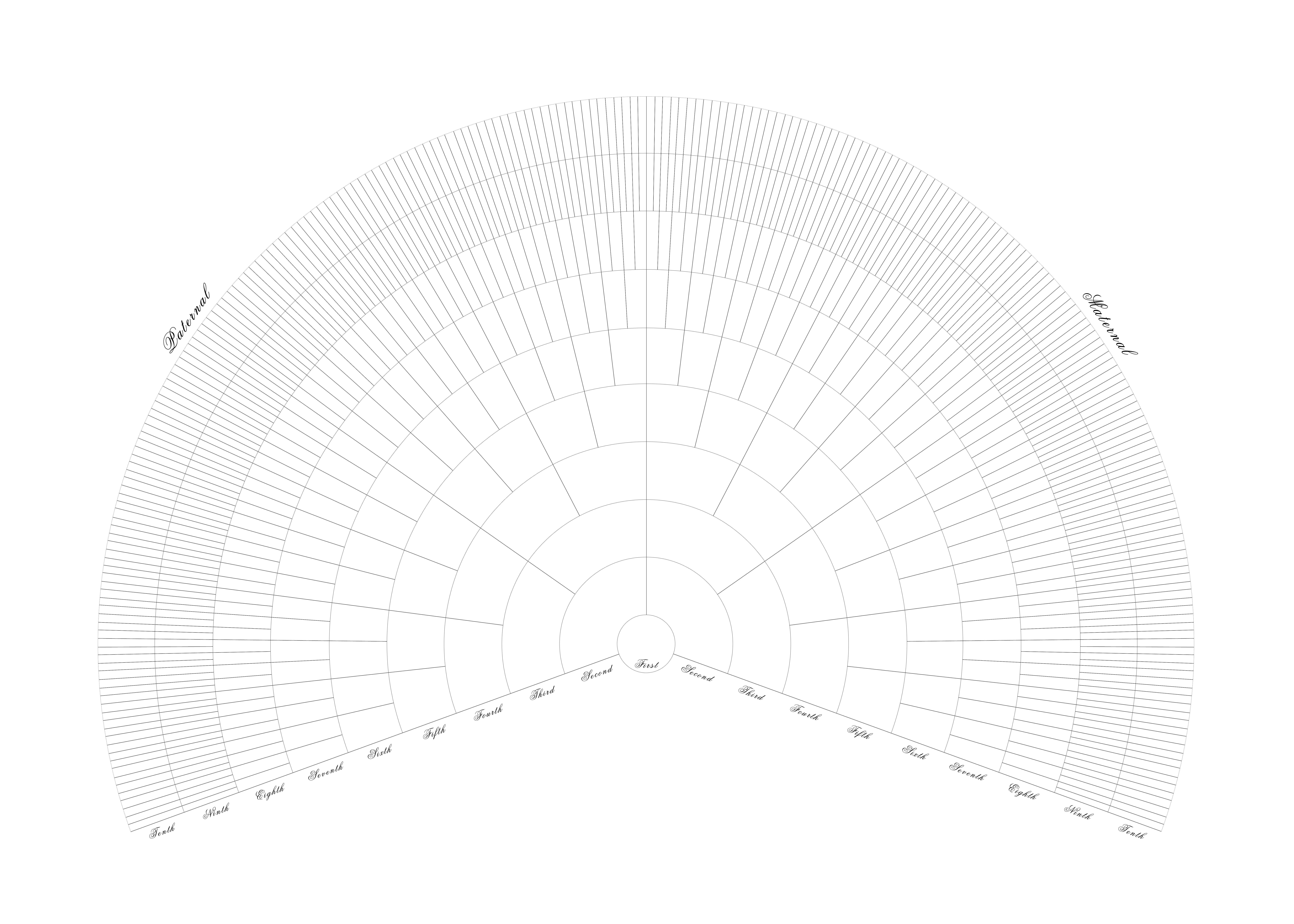 Free Printable Family Tree Fan Chart Printable Blank Family Tree