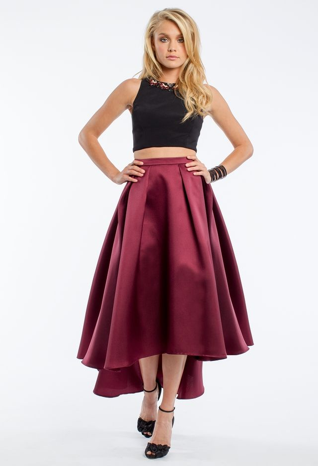 Two Piece Hi Low Ball Skirt From Camille La Vie And Group Usa