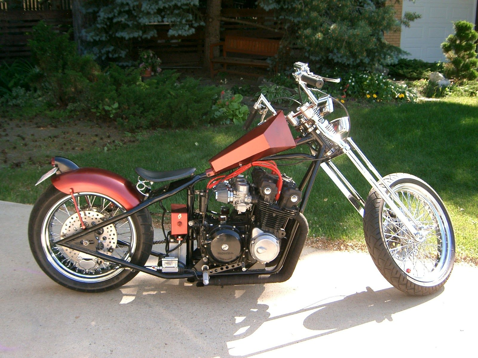 honda cb chopper cars motorcycles that i love. Black Bedroom Furniture Sets. Home Design Ideas