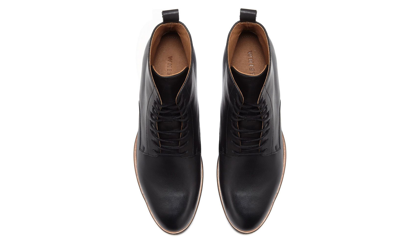 Prim Lace Up Boot, Black | WHISTLES