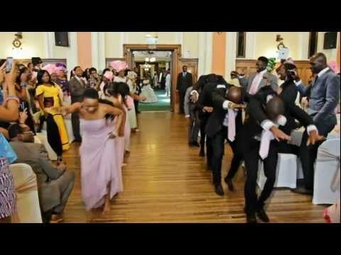 Reception Entrance African Wedding Dance Intro