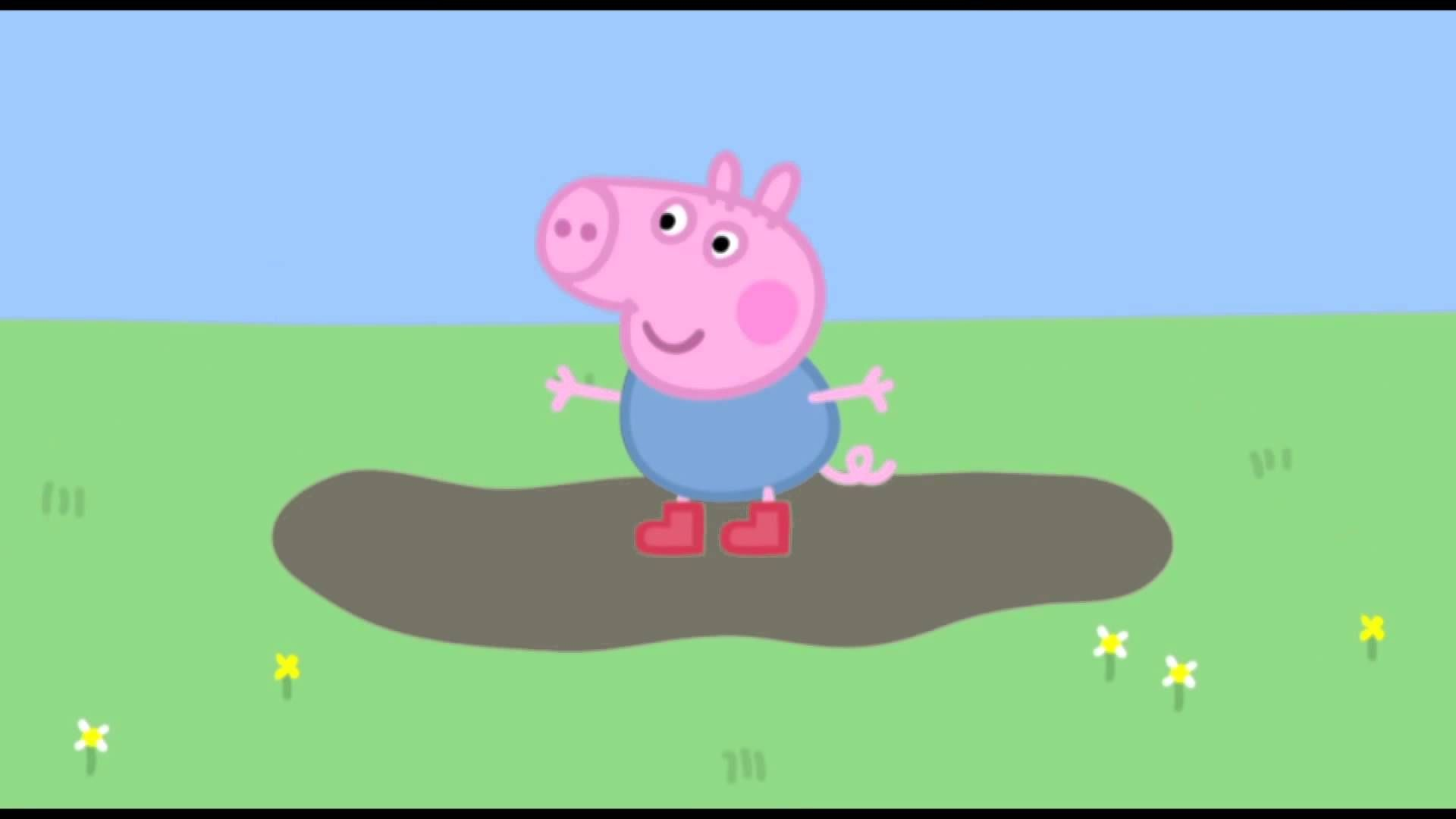 Peppa Pig: Muddy Puddles. Cartoons for Kids/Children
