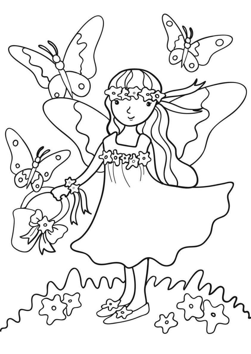 disegni sulla primavera da stampare e colorare foto