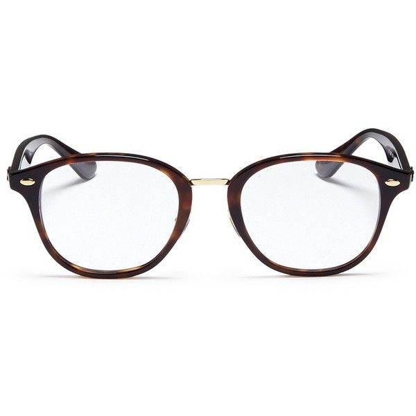 d5f11913c9 Ray-Ban  RB5355  tortoiseshell acetate square optical glasses ( 171) ❤ liked