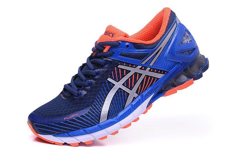 531f0f1dce33 ... Asics Gel Kinsei 6 MENS Running Shoes Darke-blue Silver ...