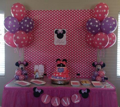 Minnie Mouse Birthday Balloon Party Theme Tulsa OK Party Ideas