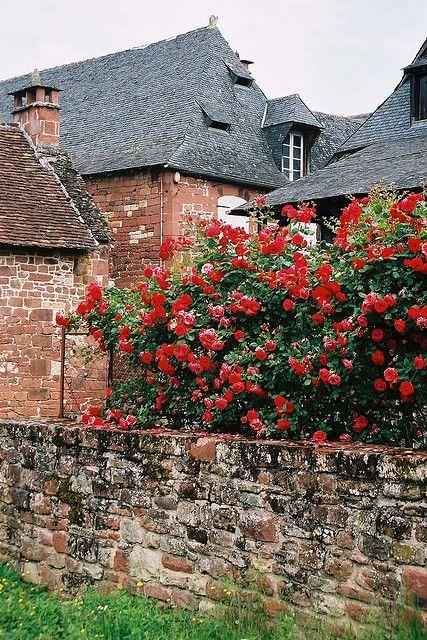 | ♕ | Maison des Roses - Collonges-la-Rouge, Corrèze |