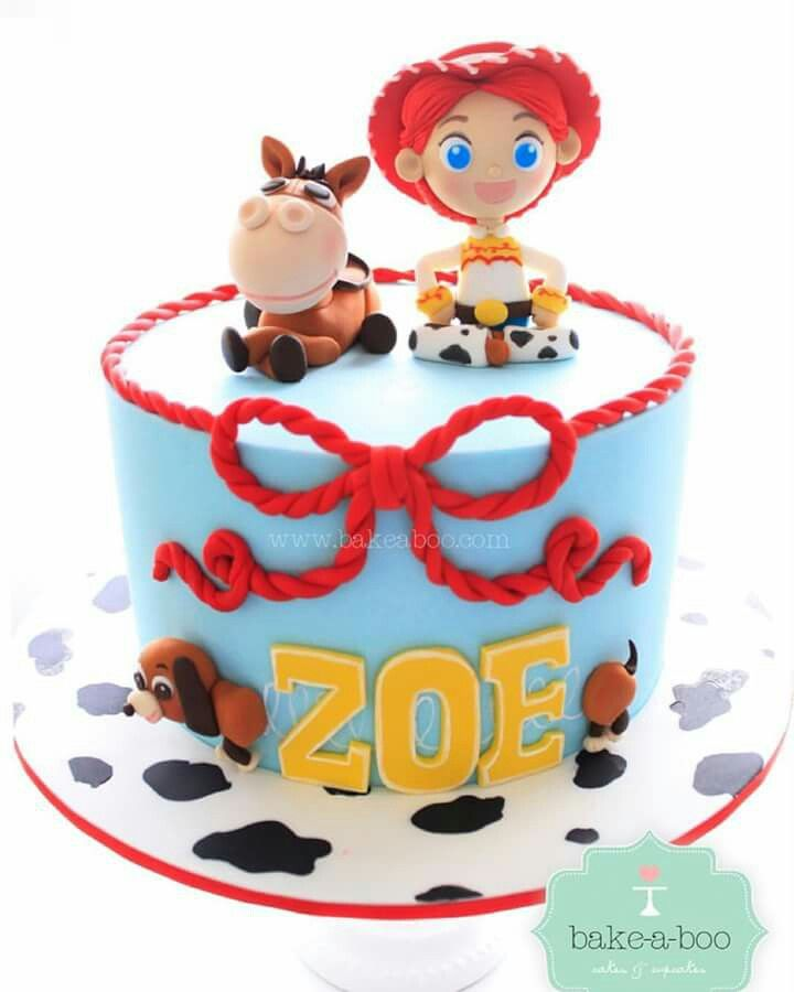 Jessie Toy Story With Images Toy Story Birthday Cake Jessie