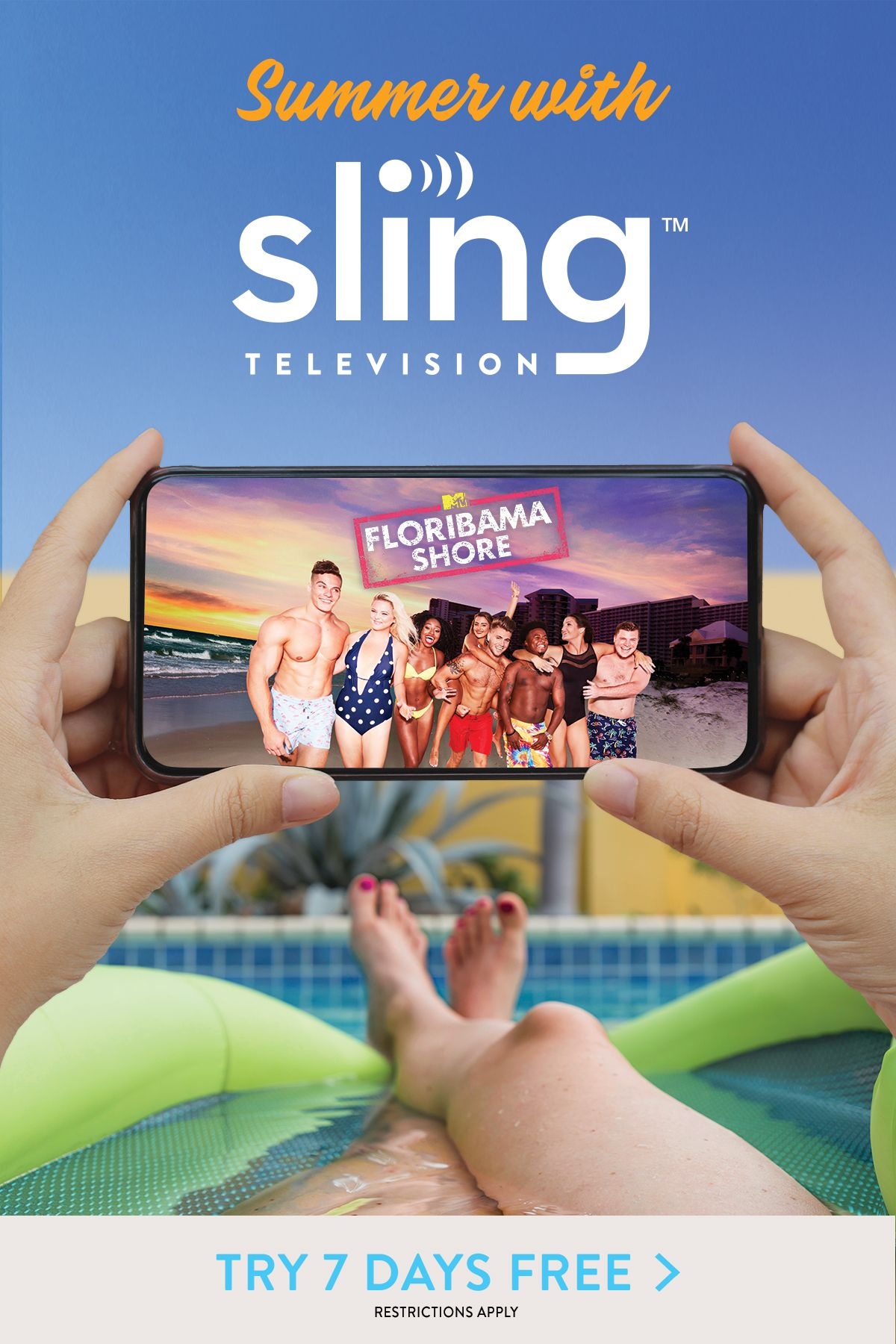 Watch FREE & get the live TV you love with Sling TV