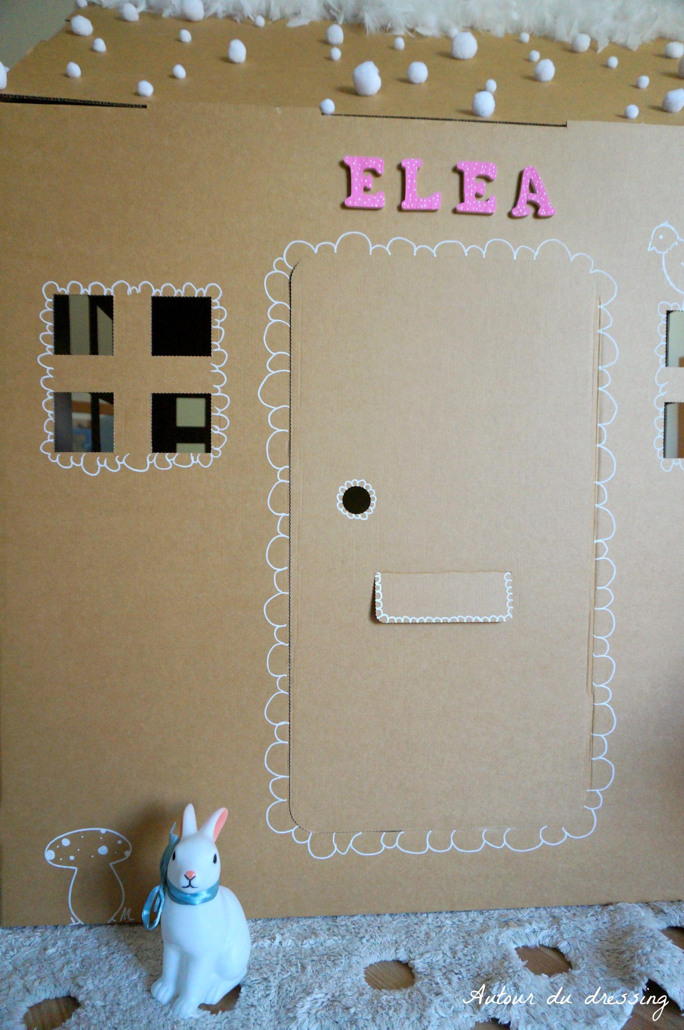 diy cabane carton chambre enfant