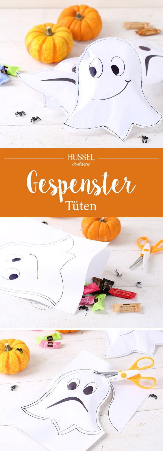 DIY Gespenstertüten – Süßes oder Saures - Hussel Confiserie Süße ...
