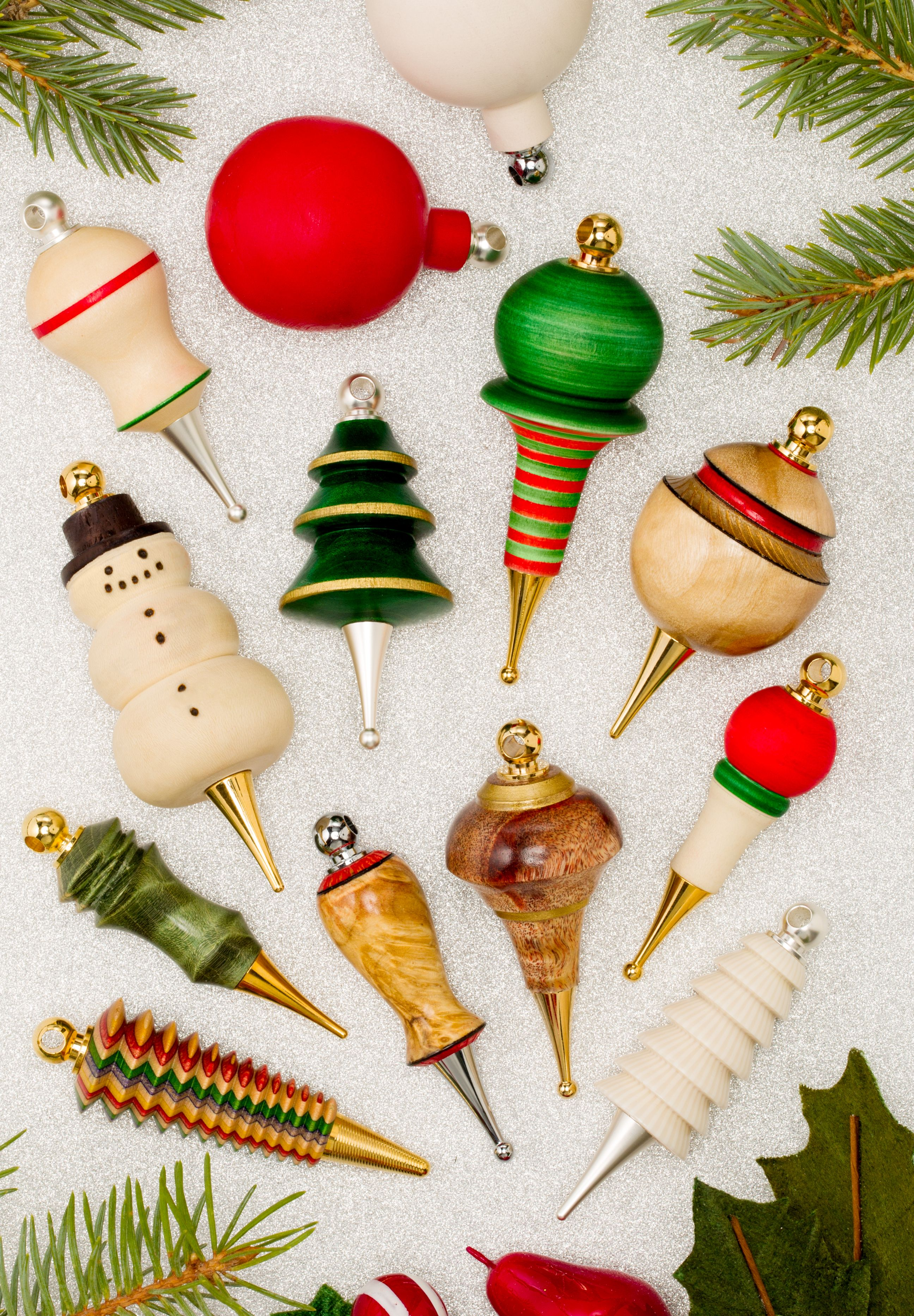 Christmas Tree Ornaments From Craft Supplies Usa Woodturning Woodturner Woodturnerscatalo Christmas Ornaments To Make Craft Supplies Usa Ornament Crafts