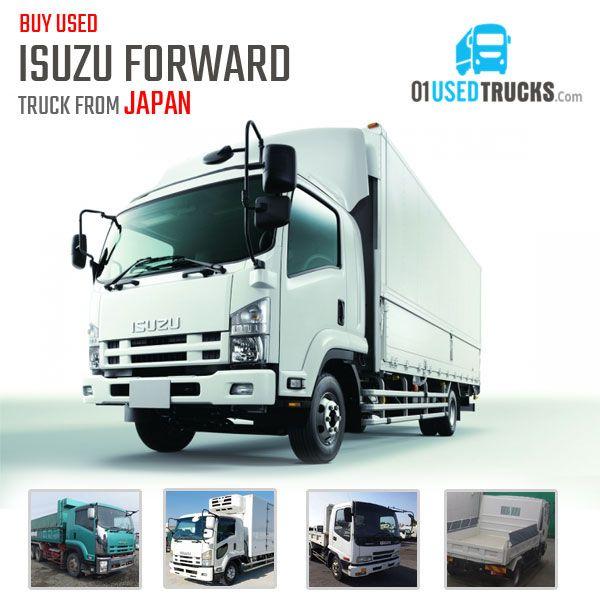 Japanese Used Isuzu Forward Truck On Sale Huge Amount Of 400 Stocks Available Price At Just 5 000 Usd Onwards Isuzuforward Trucks Used Trucks Hybrid Car