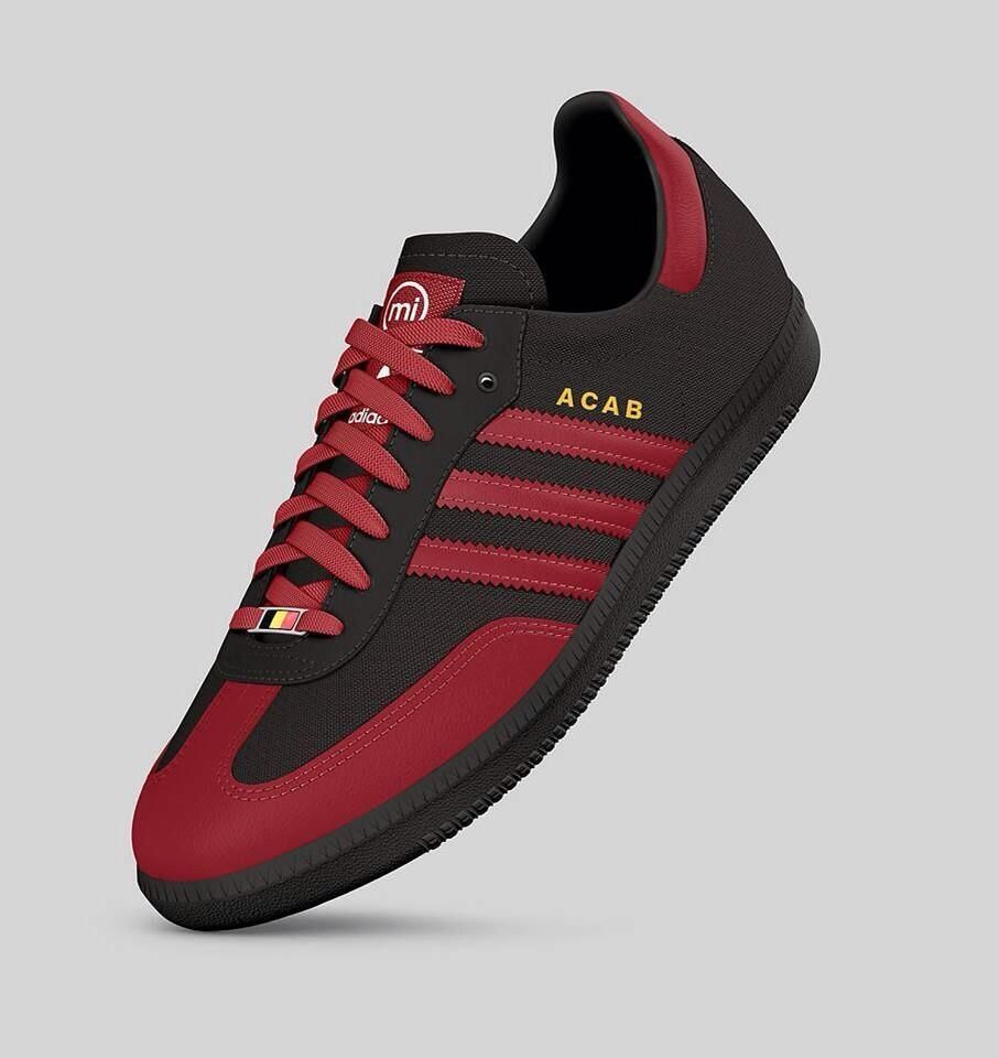 hot sales c2257 3fb14 Adidas ACAB version!
