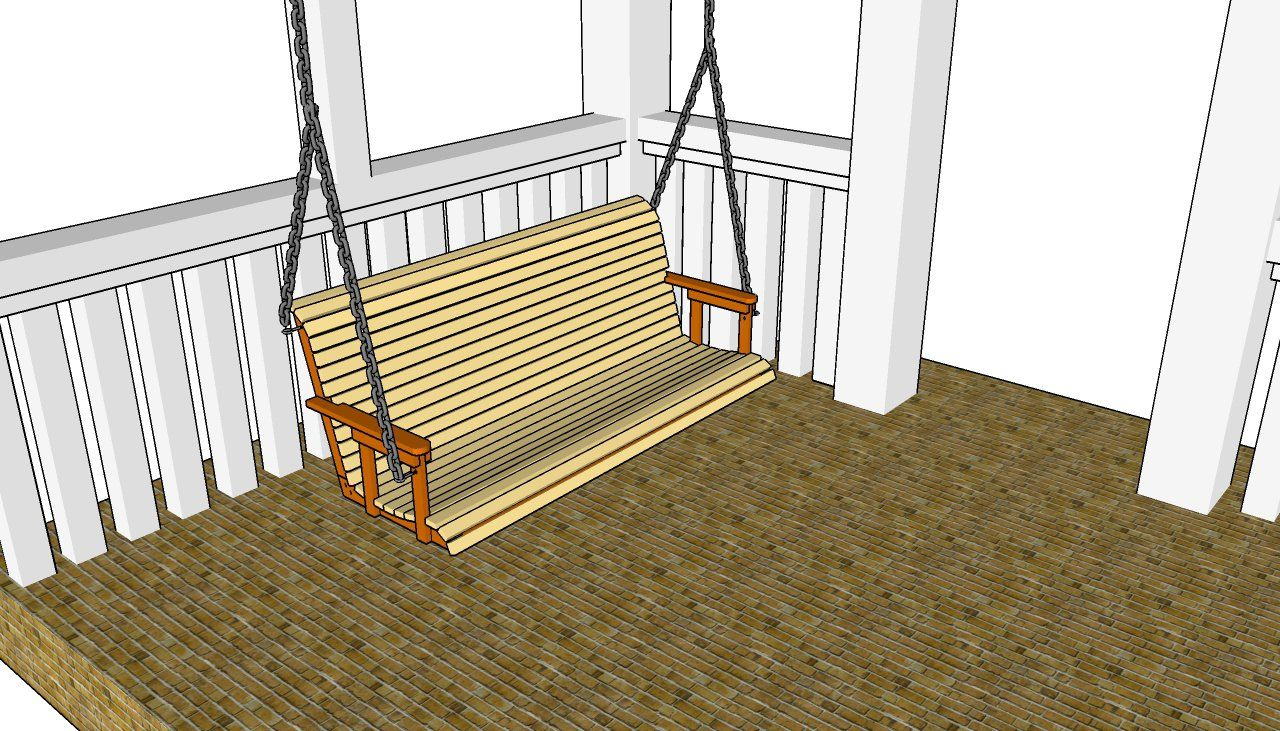 Free porch swing plans myoutdoorplans free woodworking for Build porch swing plans