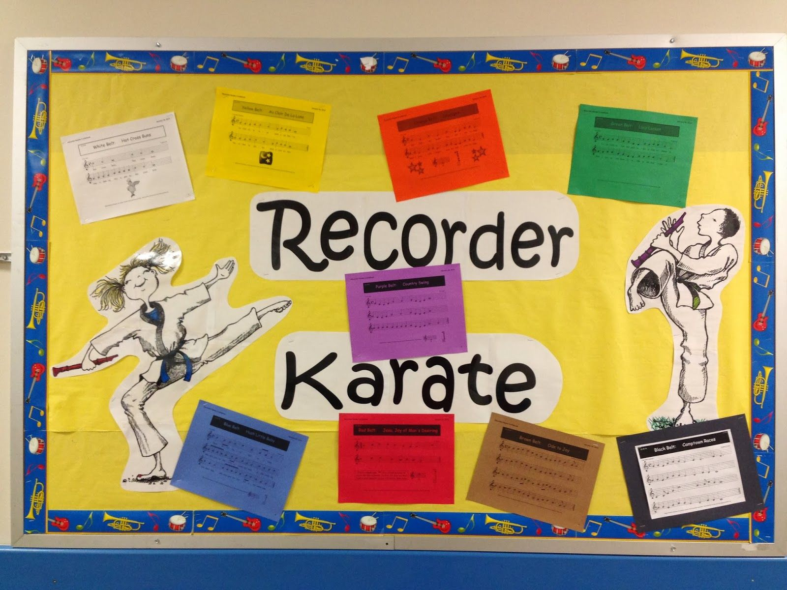 Dover Elementary Music Recorder Karate