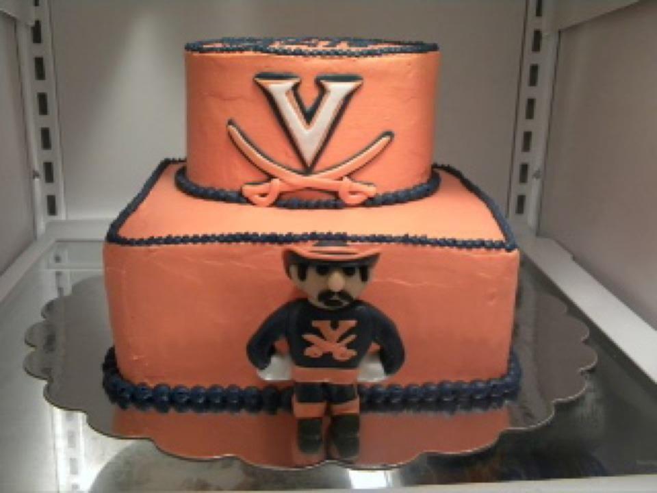 Marvelous Uva Birthday Cake Birthday Cake Cake Grooms Cake Birthday Cards Printable Trancafe Filternl