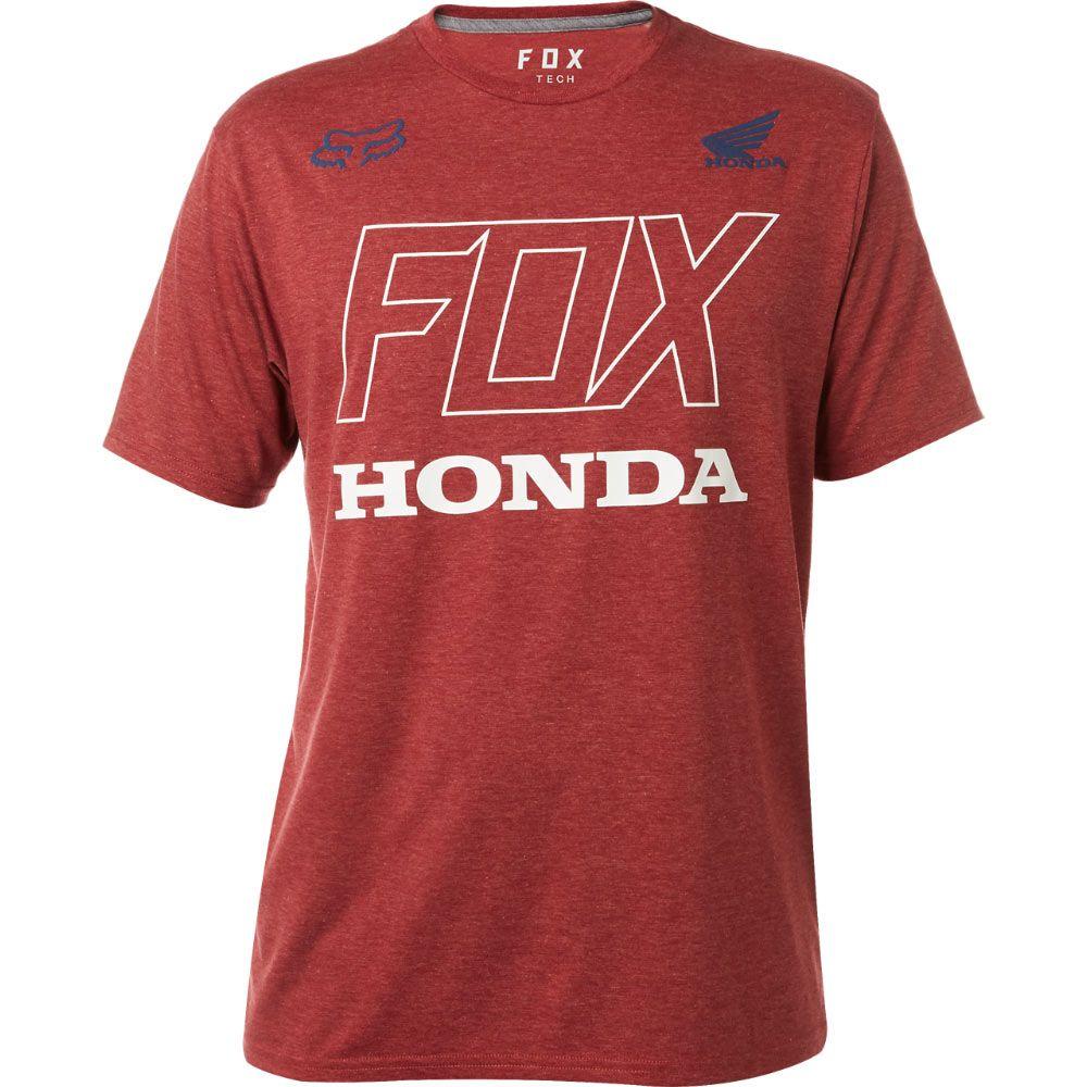 competitive price pick up best website Fox Honda Tech Tee - Dark Red XXL   Designer clothes for men, Tech ...