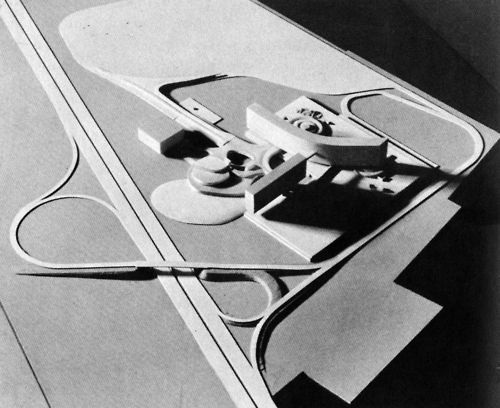 Le Corbusier, Olivetti Electronic Center, Rho-Milan, Italy, 1962